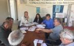 Les services de la DDT-SML2A , les prud'hommes d'Ajaccio se sont retrouvés au CRPMEM de Corse pour harmoniser leur point de vue sur la pêche à la langouste en rappelant la règlementation  actuelle et la réalité économique constatée par les professionnels. Des échanges contructifs de l'avis de Xavier D'Orazio - 1er prud'homme d'Ajaccio