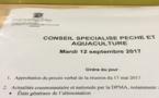 Conseil spécialisé FranceAgrimer