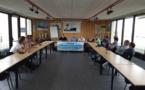 A l'occasion du défi des ports de pêche à Royan, s'est tenue également l'assemblée générale de la FFSPM avec la présence de Gérard Romit et Eric Blanc