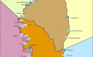 Positionnement géographique de la pêche professionnelle