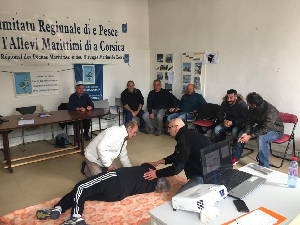 Patrons et Marins pêcheurs de la prud'homie d'Ajaccio