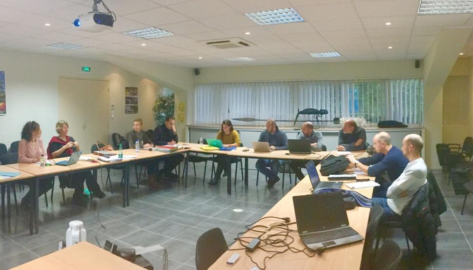 Ce mercredi 11 décembre 2017 s'est tenu à Corte le COPIL FEAMP DACOR en présence de:  OEC - RNBB - UNIVERSITE DE CORSE - STELLA MARE - STARESO - DIRM - CRPMEMC