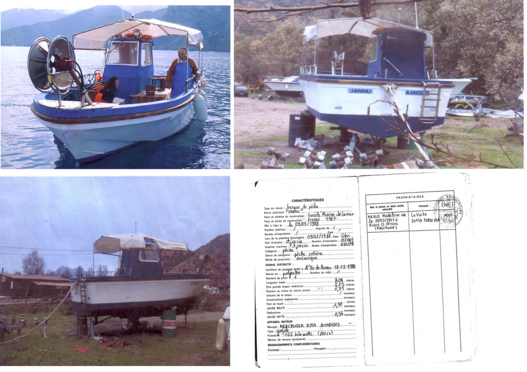 Pêcheur vend bateau : 45000 €