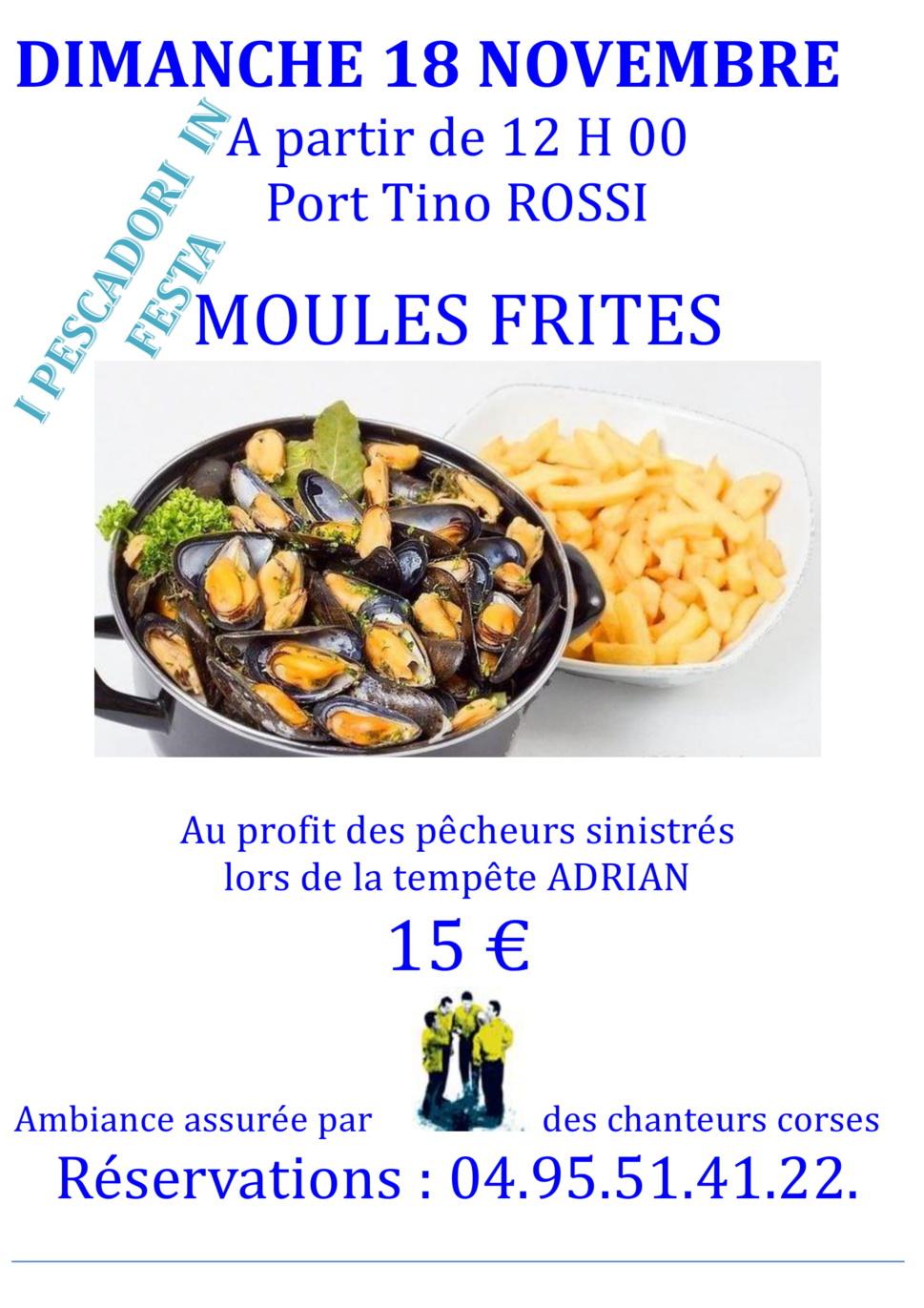 """""""A piscadori uniti, populu unitu"""" : Repas des pescadori in festa en soutien aux pêcheurs impactés par la tempête Adrian"""