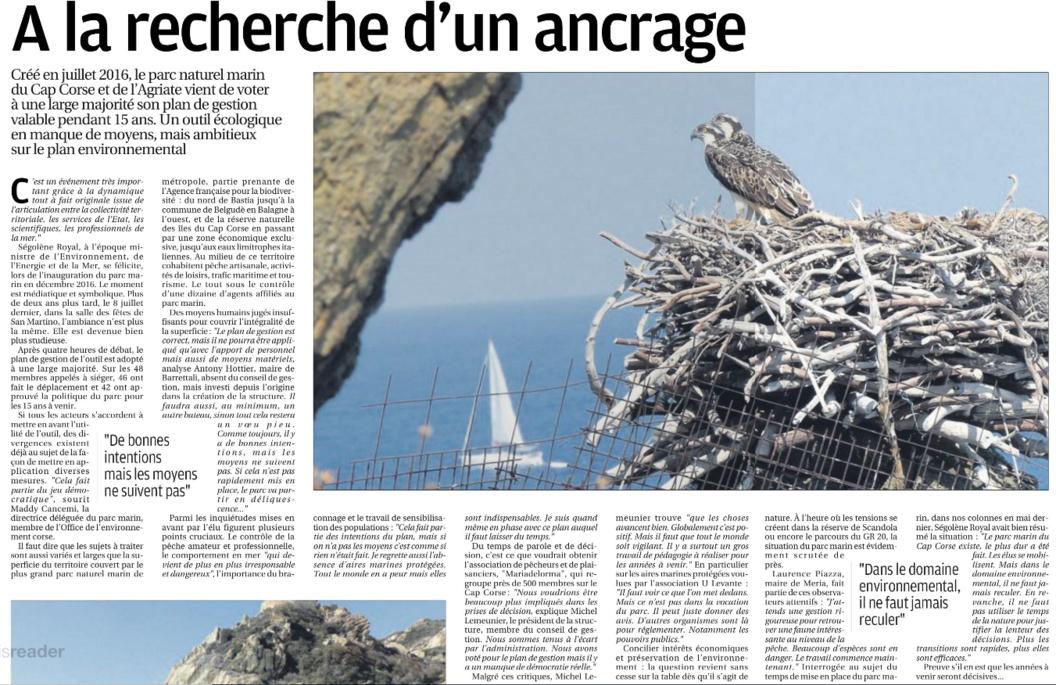 Reportage Cap Corse et Agriate