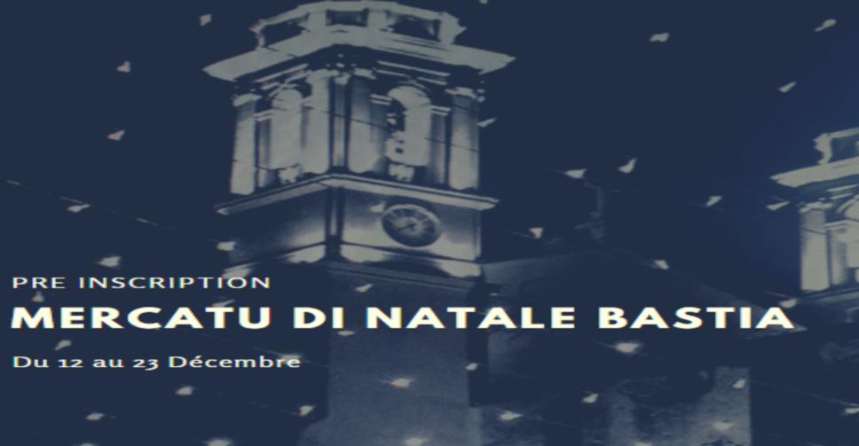 Stand Mercatu di Natale Bastia 2019