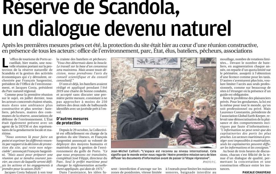 Réserve de Scandola, un dialogue devenu naturel