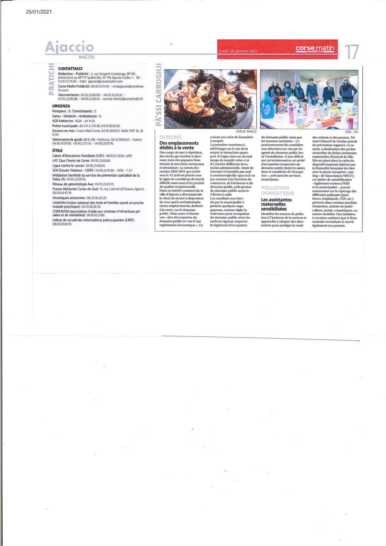 Oursin à Ajaccio lieu de vente conditions