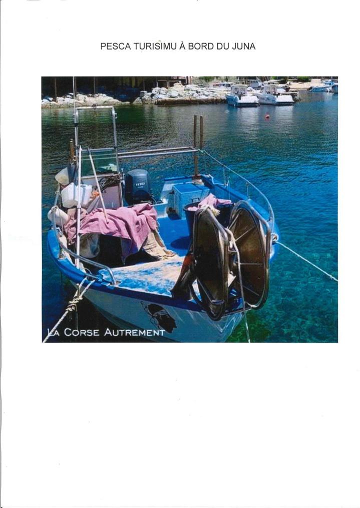 Pescatourisme à Centuri