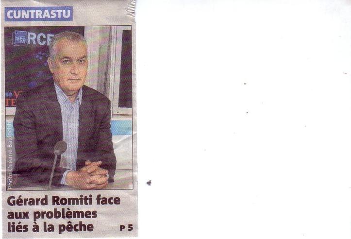 Gérard ROMITI invité de CUNTRASTU