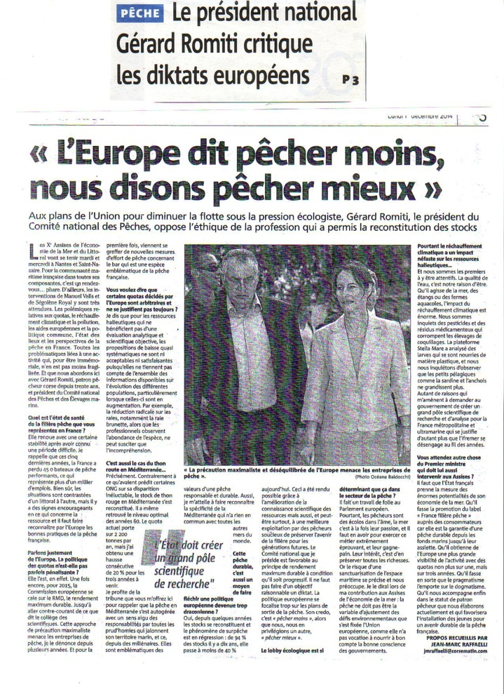 Le Président critique les diktats européens
