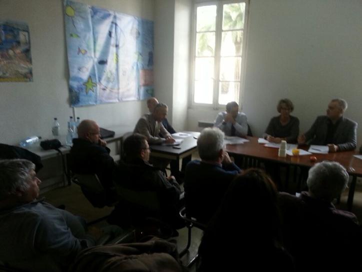 1er Conseil du CRPMEM de Corse de l'année