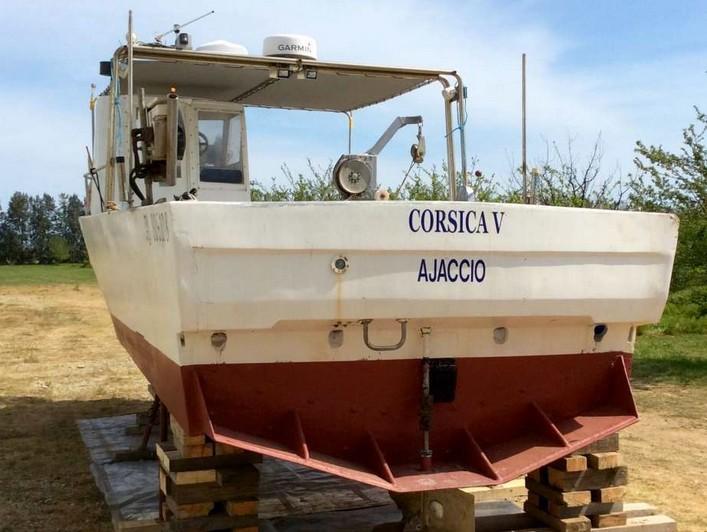 A vendre bateau de pêche