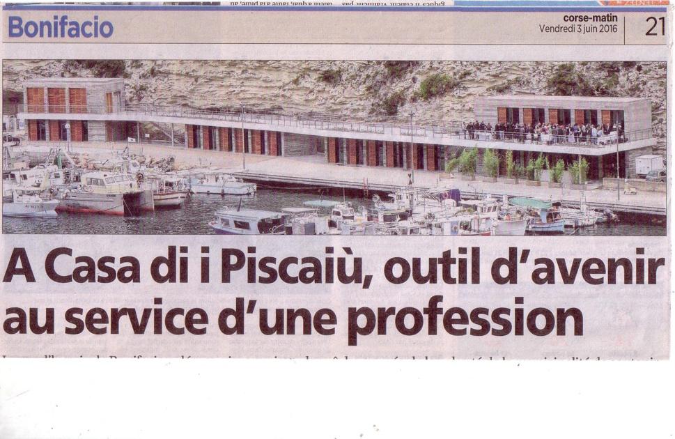 """Philippe BOTTI, 1er prud'homme de Bonifacio """"une grande fierté pour la Corse, nous devons servir d'exemple pour les autres ports"""""""
