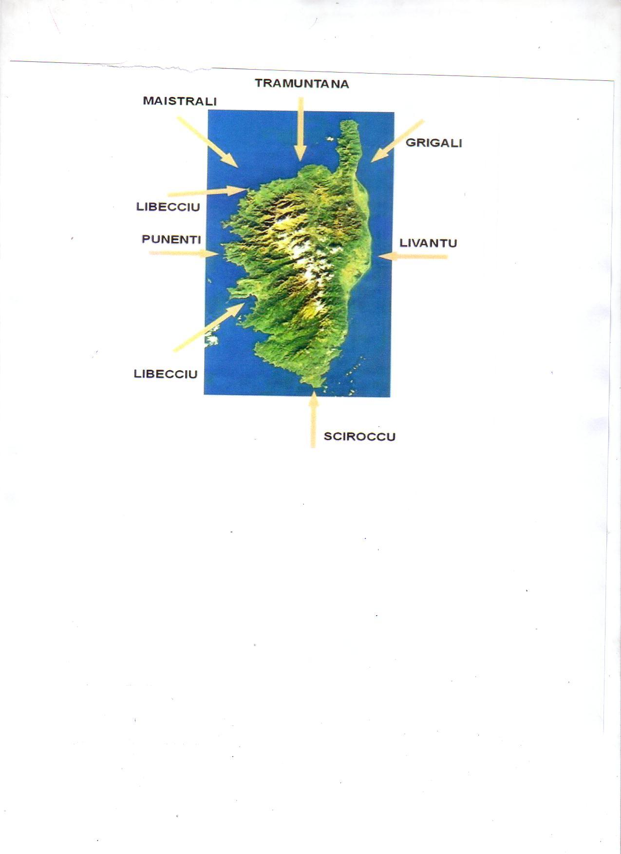 Les Vents en Corse