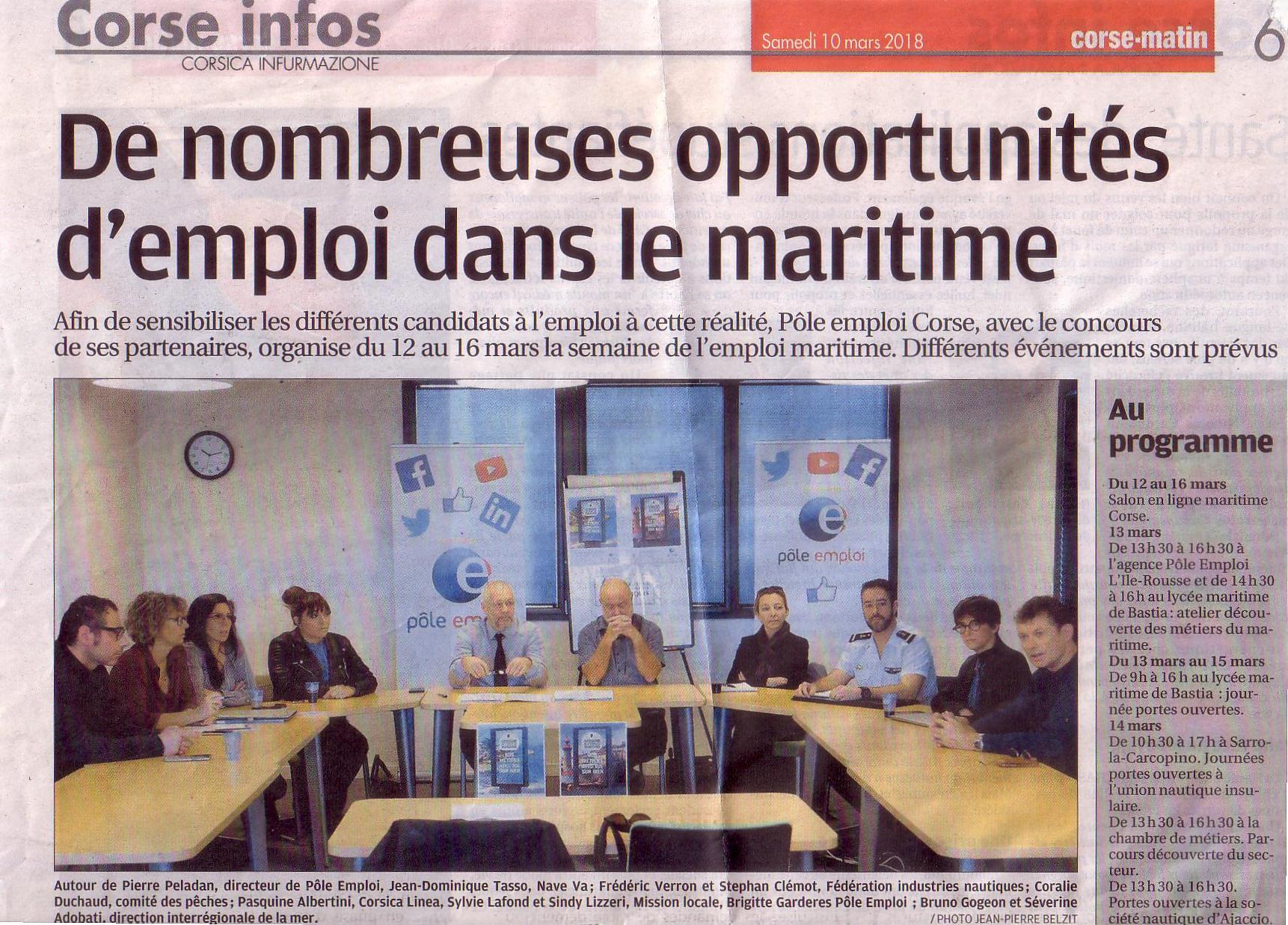 Coralie DUCHAUD, représentant le CRPMEM de Corse est intervenue sur la filière pêche professionnelle artisanale Corse.