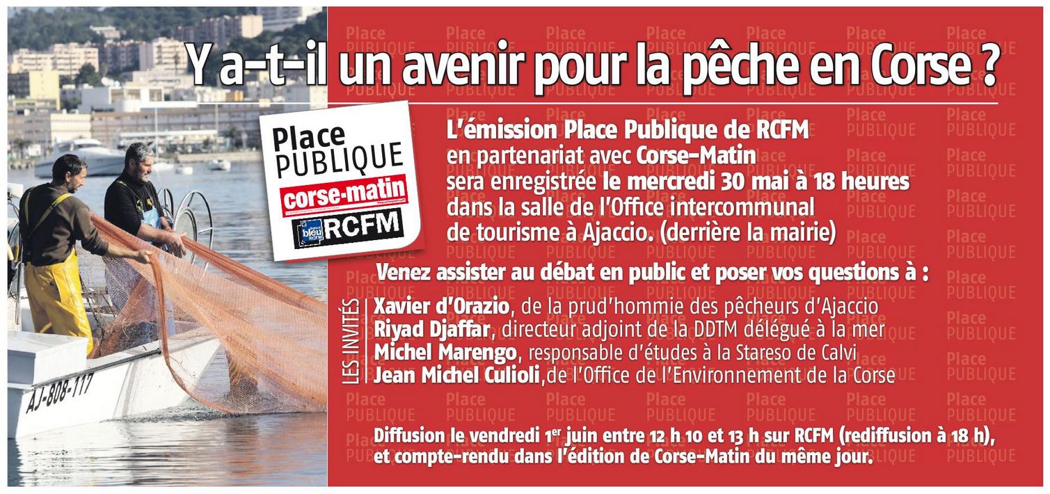 Débat sur l'avenir de la pêche en Corse