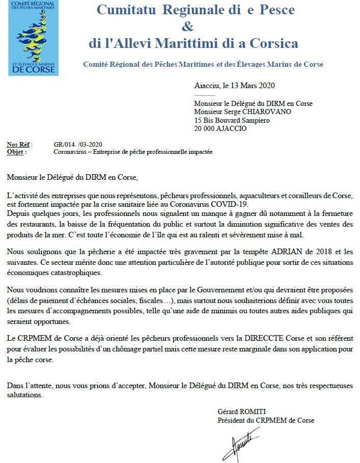 Coronavirus. Entreprise de pêche professionnelle impactée