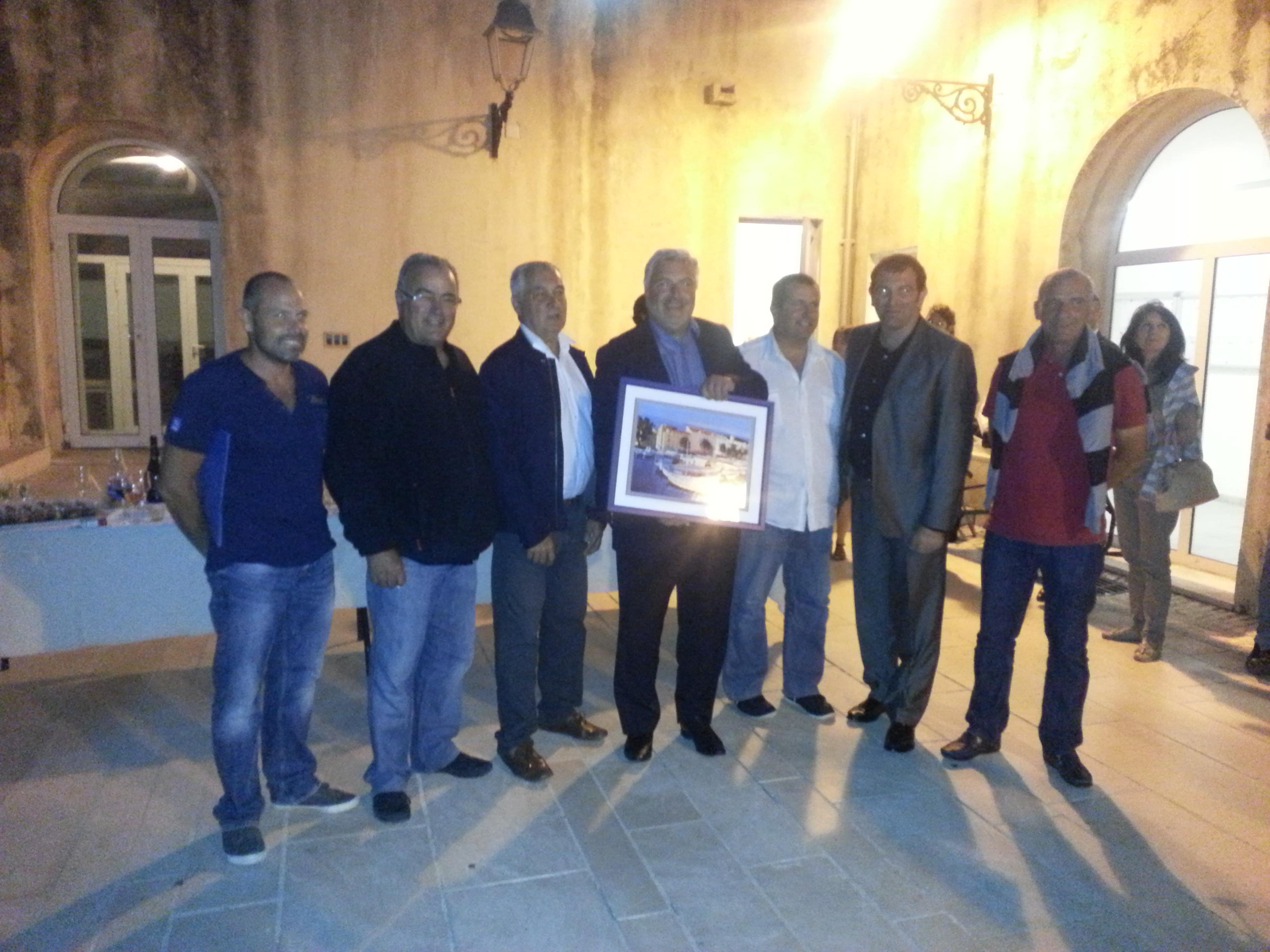 Photos de la visite du secrétaire d'état chargé des transports, de la mer et de la pêche