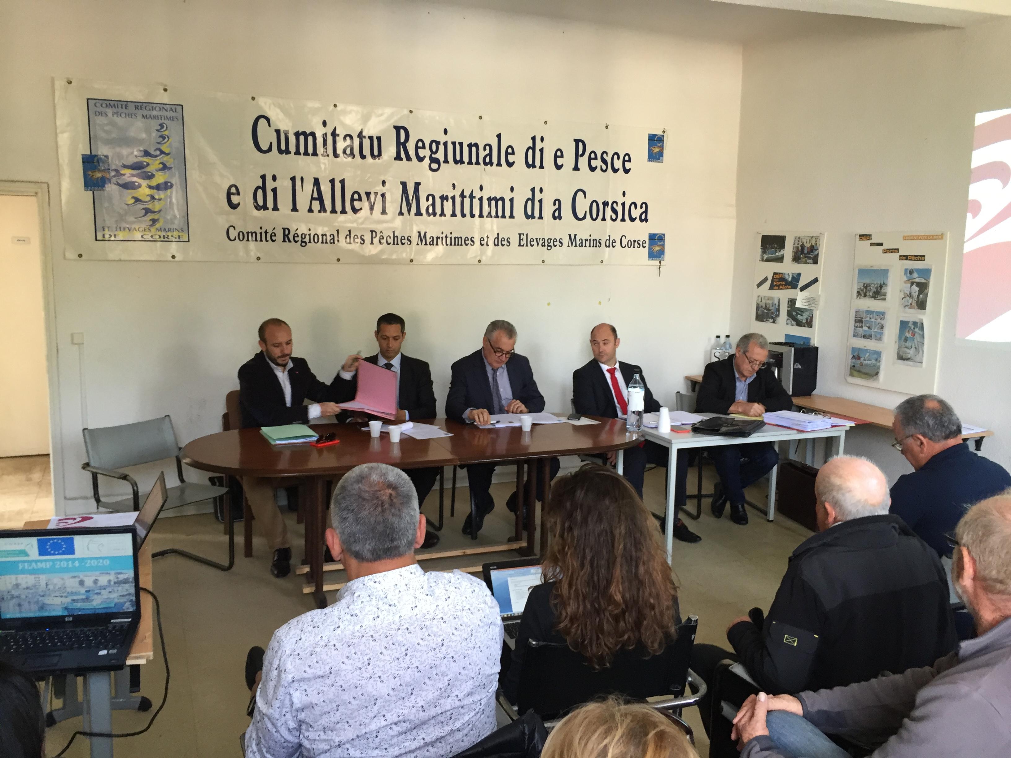 Assemblée Générale du CRPMEMC du Jeudi 07 avril 2016