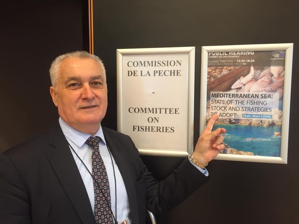 Gérard Romiti auditionné à Bruxelles sur la pêche en Méditerranée