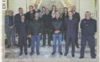 Riyad Djaffar, nouveau Directeur Départemental Adjoint  de la DDTM Corse du Sud a présidé la cérémonie de presation de serment des pêcheurs de la prud'homie d'Ajaccio élus en décembre 2017. L'équipe du CRPMEM a tenu être présent à cette occasion.