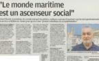 La création d'un cluster maritime en Corse.