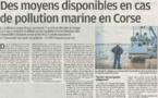 La lutte contre la pollution en Corse