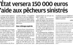 Les suites de la tempête Adrian :  Les €150'000 attendus de l'Etat