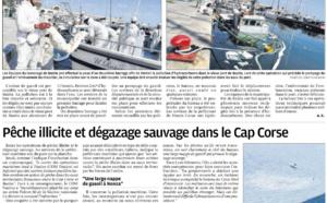 Un chalutier coule à Bastia et pêche illicite et dégazage dans le Cap Corse