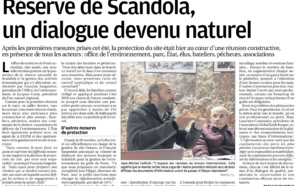 Réserve de Scandola, un dialogue devenu naturel