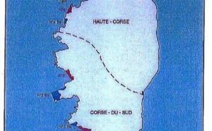 CORAIL :  zones de jachere en Corse