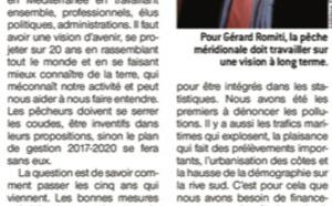 """Gérard Romiti """"pour une pêche durable"""""""